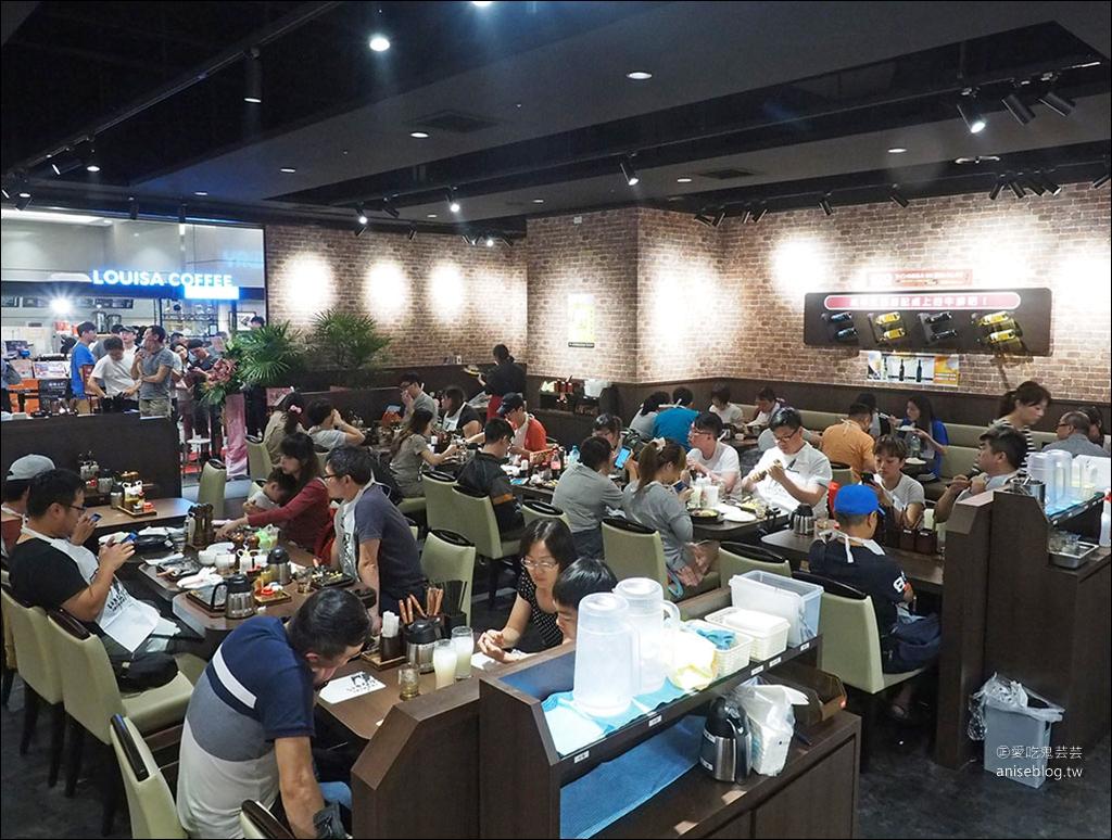 Ikinari Steak Taiwan 1公克1.6元起!南港超人氣現切美國CAB安格斯牛排,賣得比日本還便宜,午餐超划算!