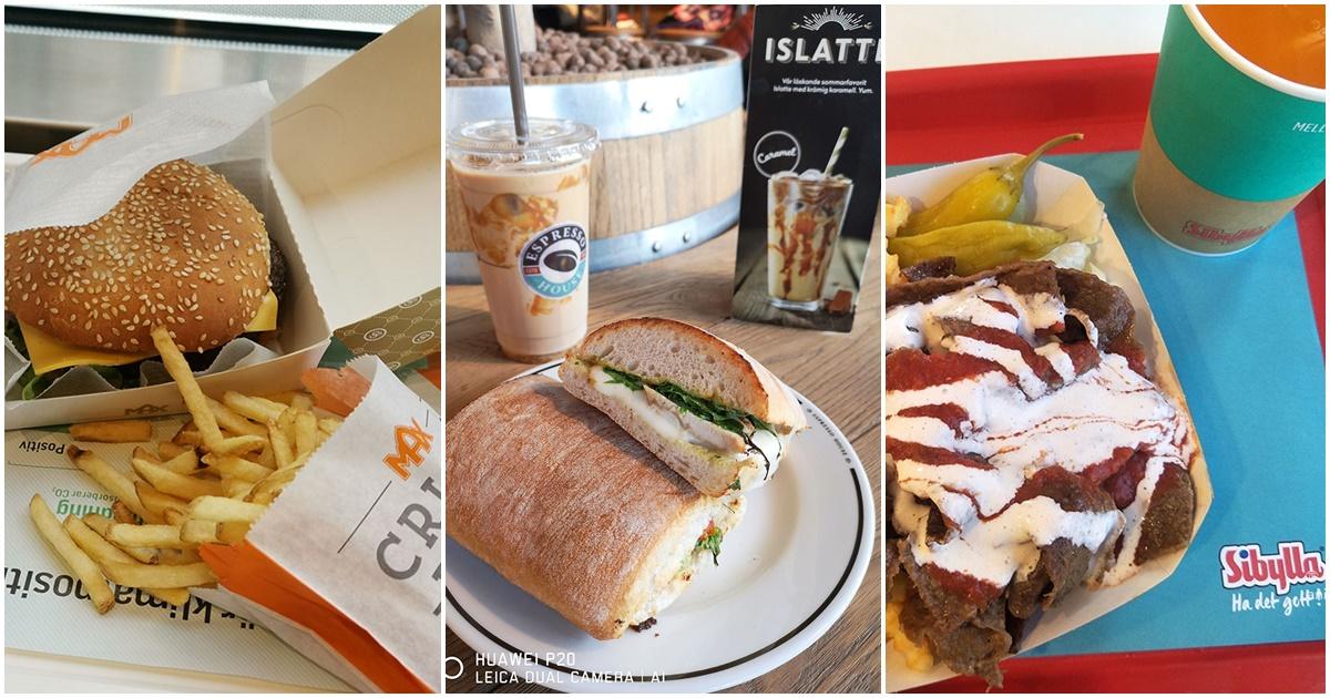斯德哥爾摩平價美食 – 速食、咖啡店篇 @愛吃鬼芸芸
