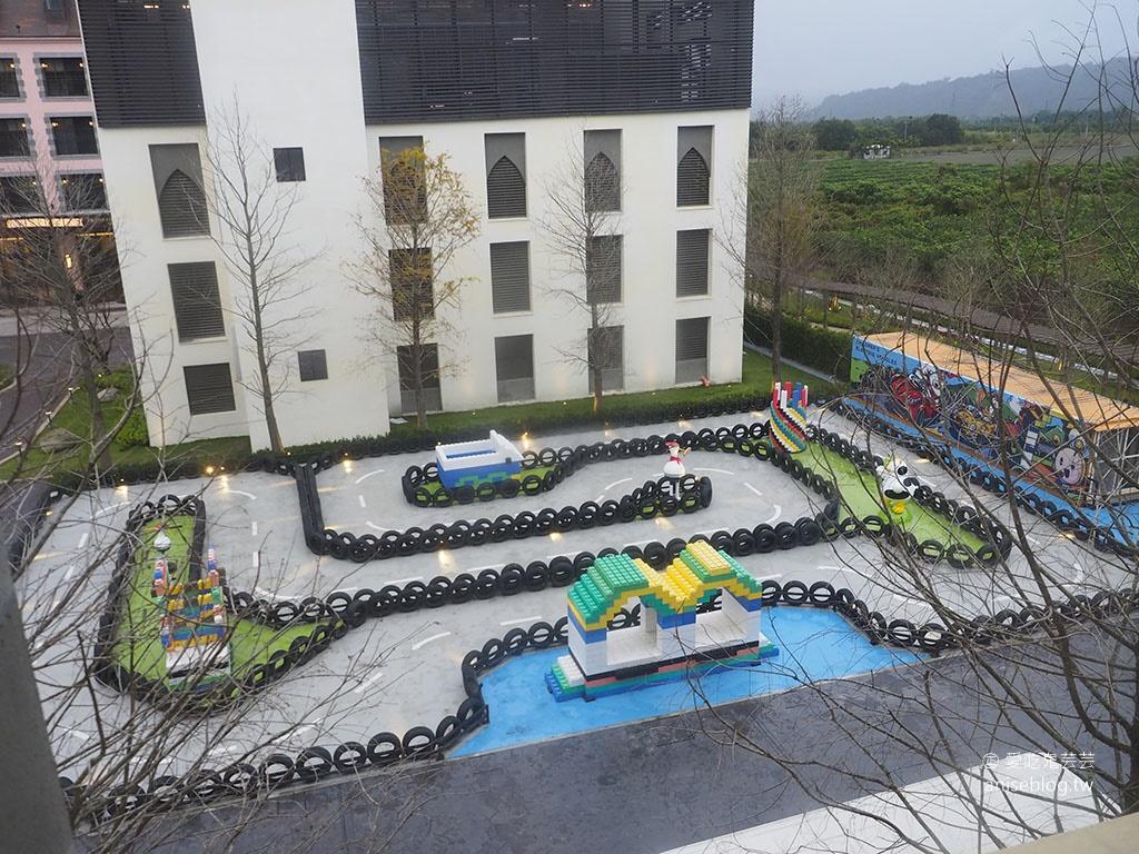 瑞穗天合國際觀光酒店設施篇,金色水樂園、溜滑梯親子房、SPA、KTV、小賽車等一應俱全!