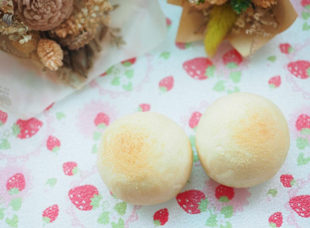 熊熊找不到金沙酥,蛋黃+白鳳豆沙細緻綿密、入口即化毫好吃🤤