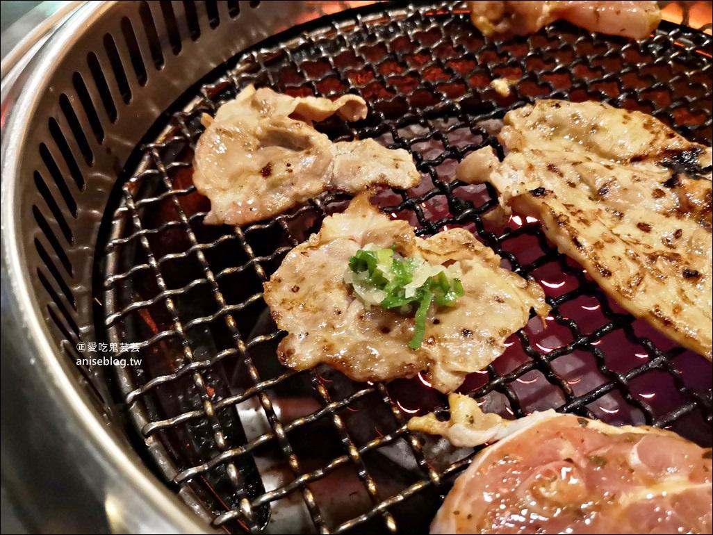 燒肉眾精緻炭火燒肉板橋文化店,499豬肉吃到飽,新埔站美食(姊姊食記) @愛吃鬼芸芸
