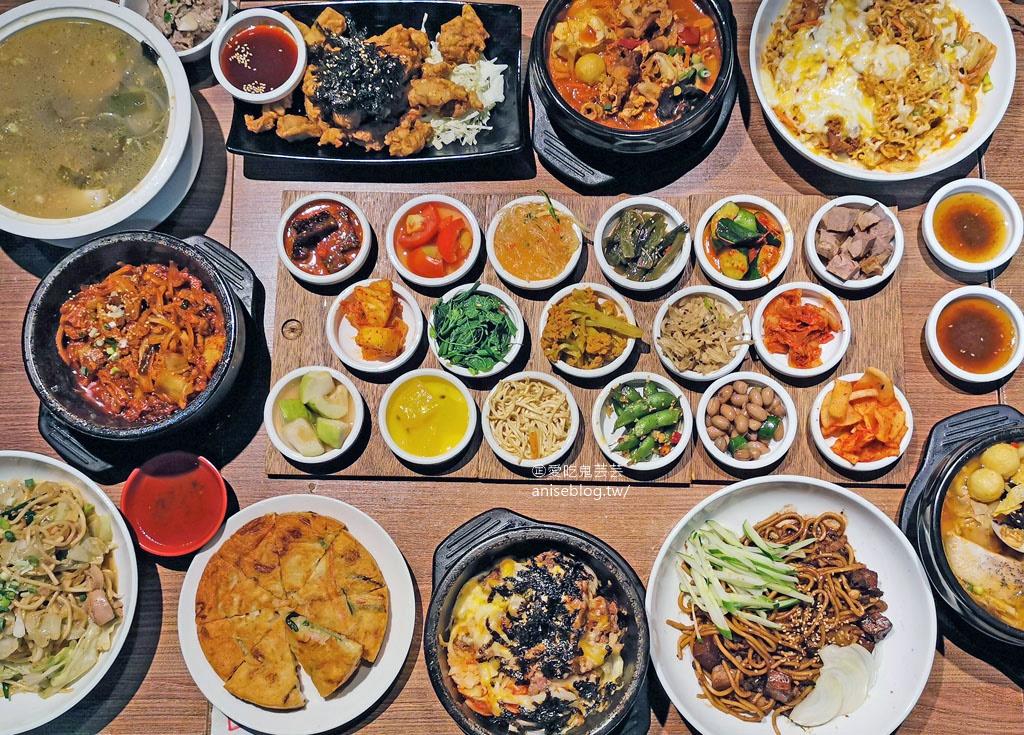 今日熱門文章:朝鮮味韓國料理,數十種小菜免費吃到飽,最愛炒泡麵、拌飯、海陸泡菜鍋!