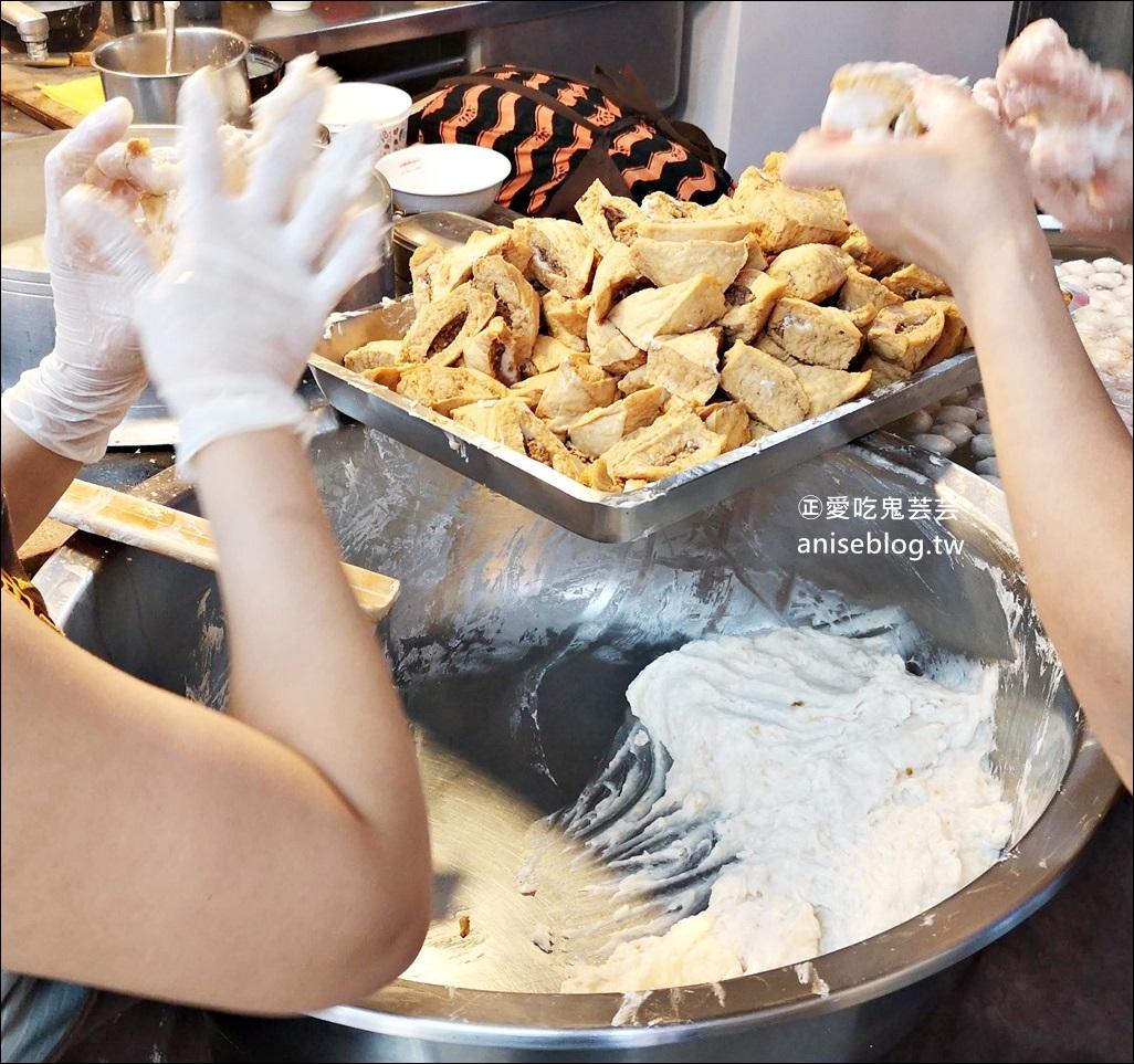 魚丸伯仔65年老擔,豆干包、乾冬粉,基隆愛二路平價美食小吃(姊姊食記)