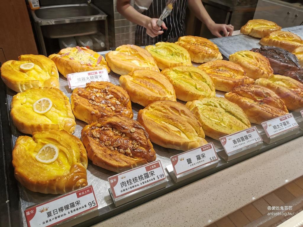 今日熱門文章:創盛號烘焙本舖,秒殺羅宋麵包每人限購4顆,超多口味比臉還大! @ 統一時代