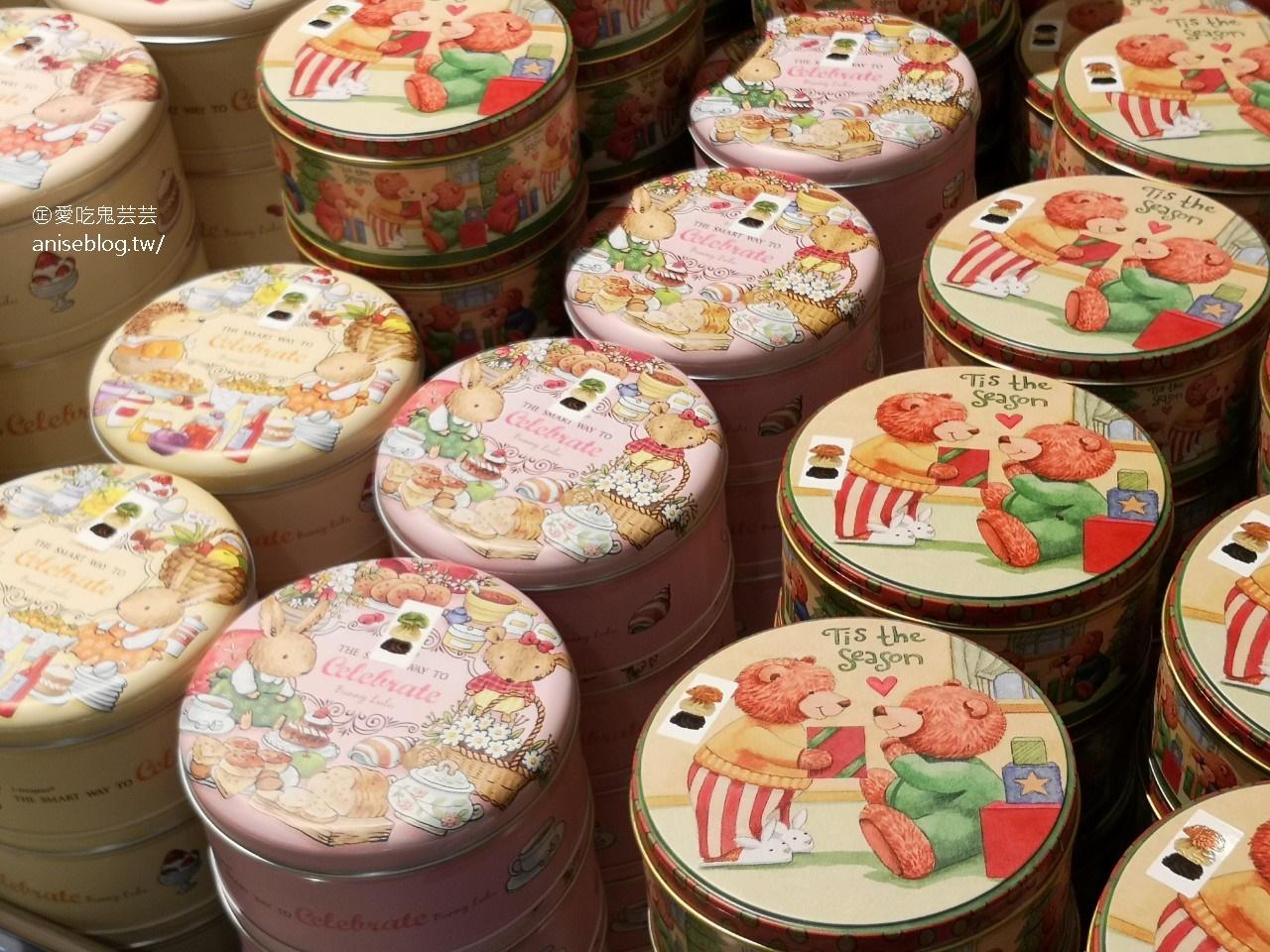 愛威鐵盒餅乾,台版珍妮曲奇餅超夯團購名物快閃SOGO忠孝館,芸芸粉絲9折優惠 😍