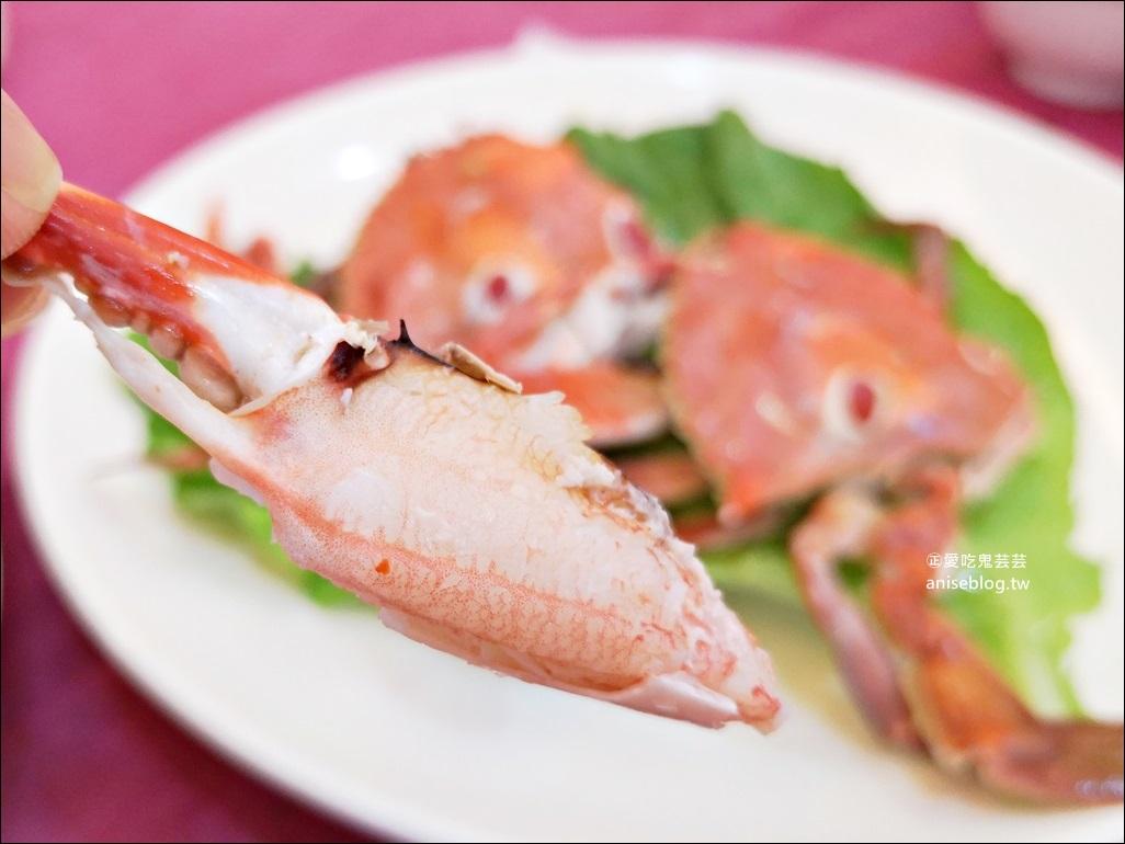 海園活海鮮餐廳吃三點蟹,又貴又好吃,東北角鼻頭角美食(姊姊食記)