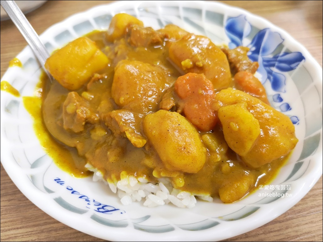 嘉義公園火雞肉飯、魯肉飯、咖哩飯,金黃油蔥迷人香氣(姊姊食記)