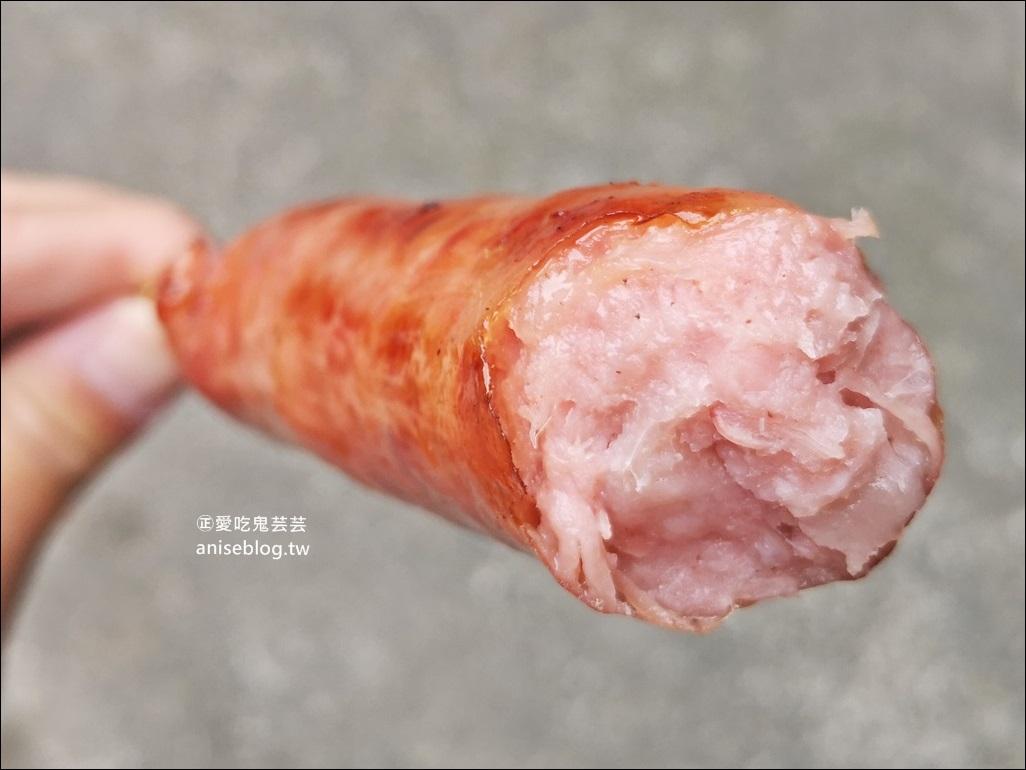 三峽九鬮香腸、李溪口黑豬肉香腸,三峽成福香腸一條街(姊姊食記)