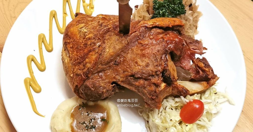 巴獅子德國餐廳,豬腳、香腸、垛麵好德國好好吃,推!(文末菜單) @愛吃鬼芸芸