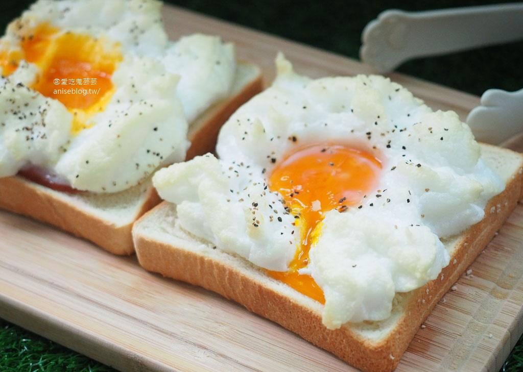 雲朵吐司,吃個美美的早午餐吧!