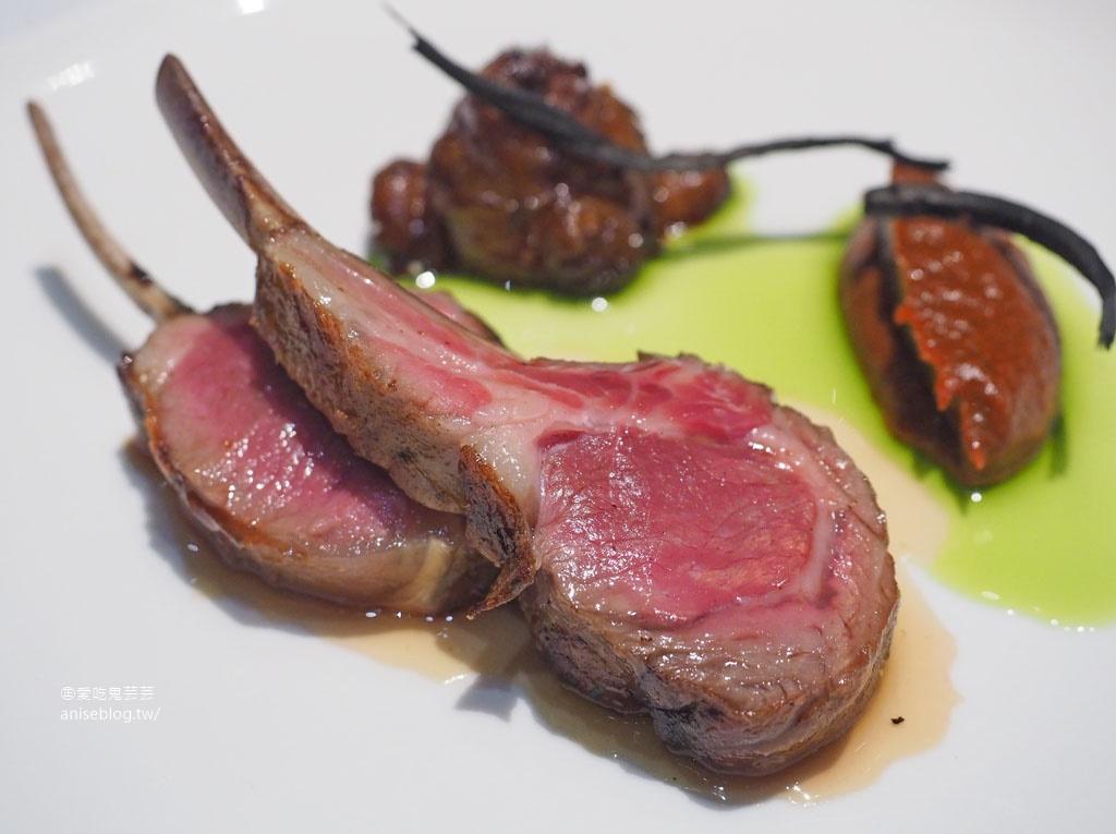 Orchid Restaurant 蘭 @2019米其林餐盤推薦,來自紐西蘭的三帽主廚與來自紐西蘭神級羊排