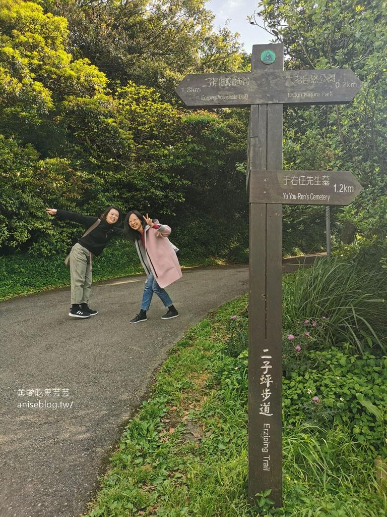 二子坪步道,陽明山最好走的步道,也是無障礙步道喔!