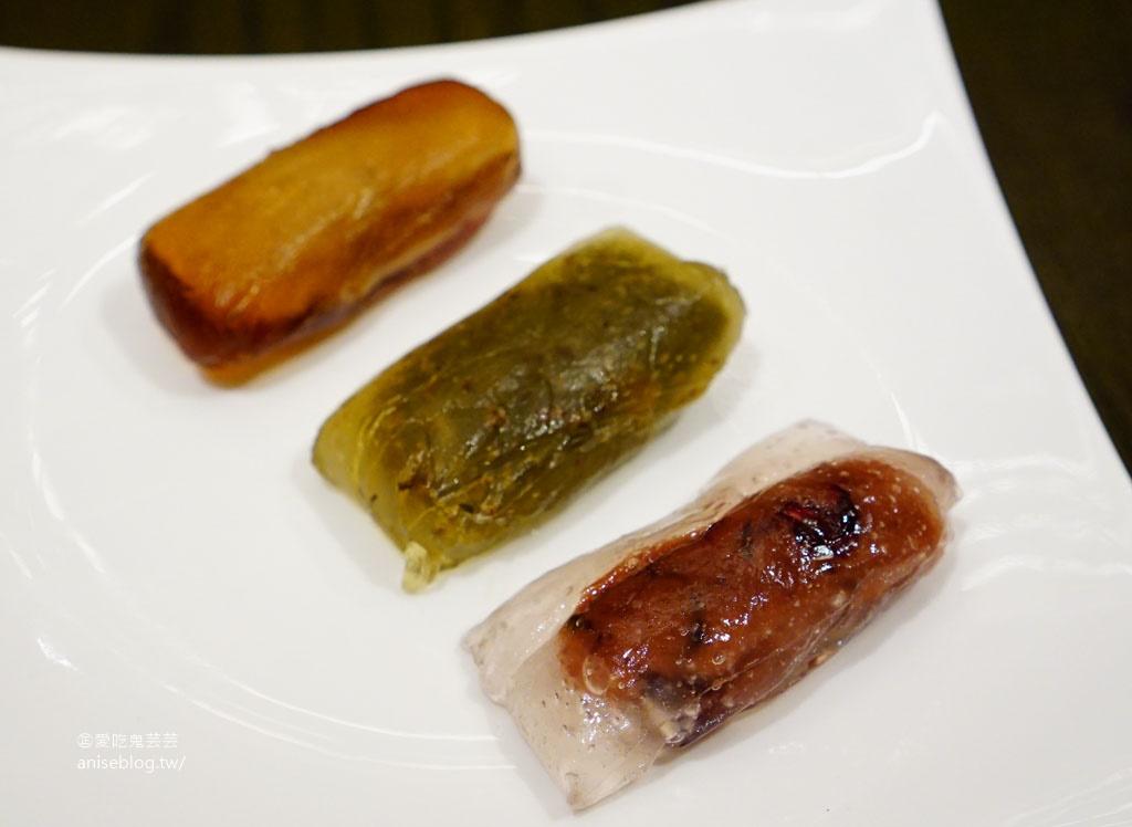 台北萬豪酒店「黃金傳香福蹄粽」,蹄膀入粽超浮誇!