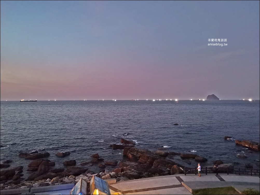 外木山聖托里尼海景餐廳,基隆海岸線美食(姊姊食記)