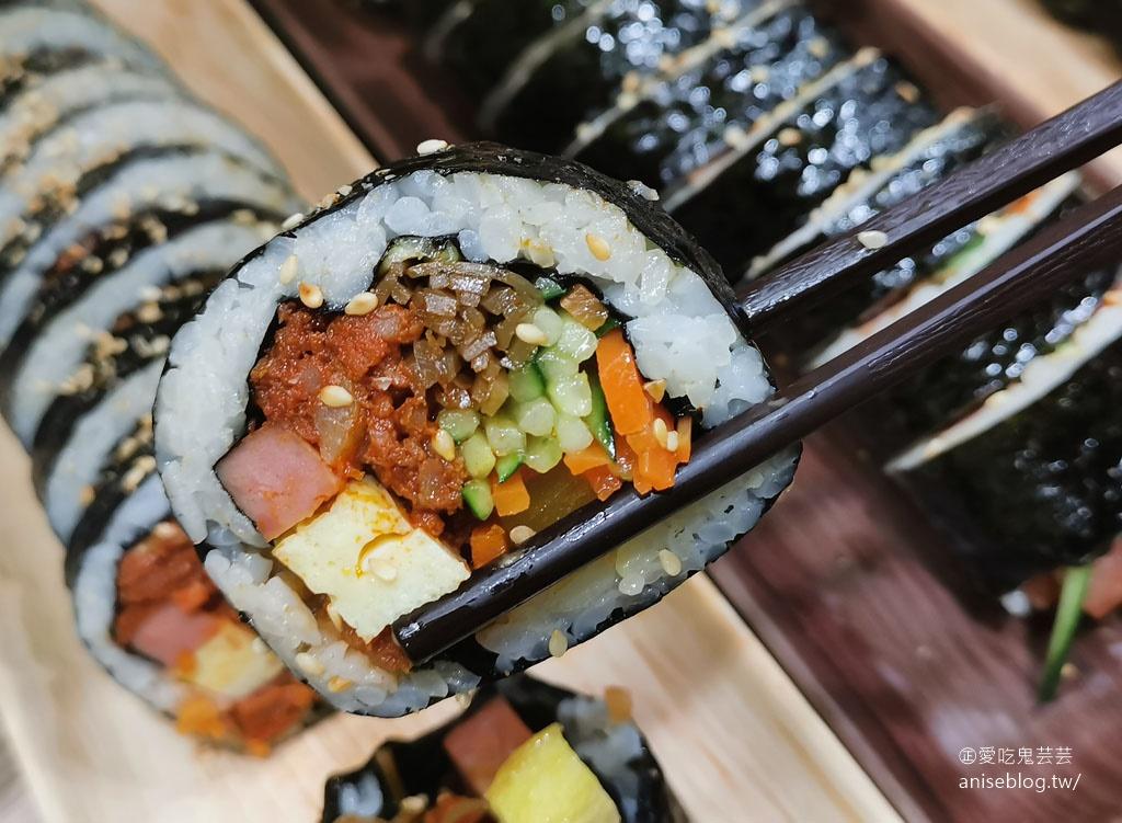 咪咪紫菜捲 KOREA GIMBAP,西門町有韓國老闆開的韓國飯捲店! @愛吃鬼芸芸