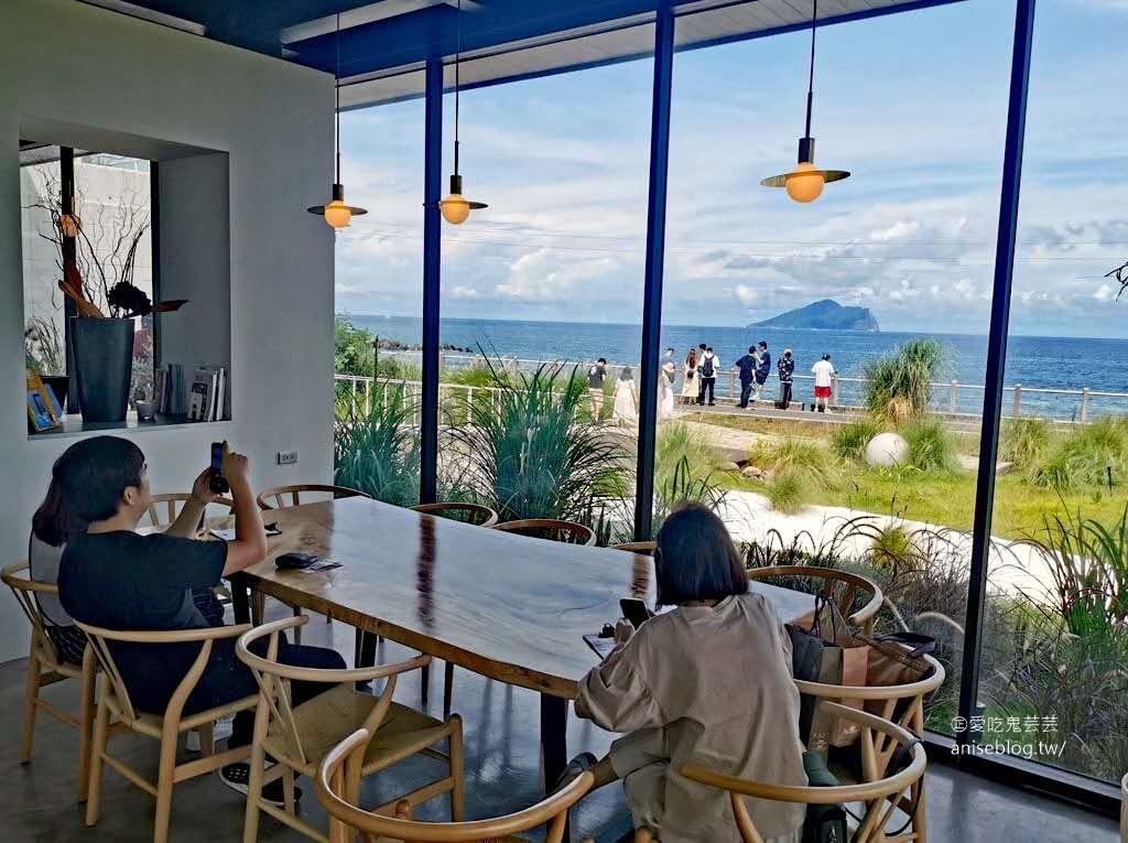 滿山望海,2020頭城最夯咖啡廳!龜山島零死角盡入眼底