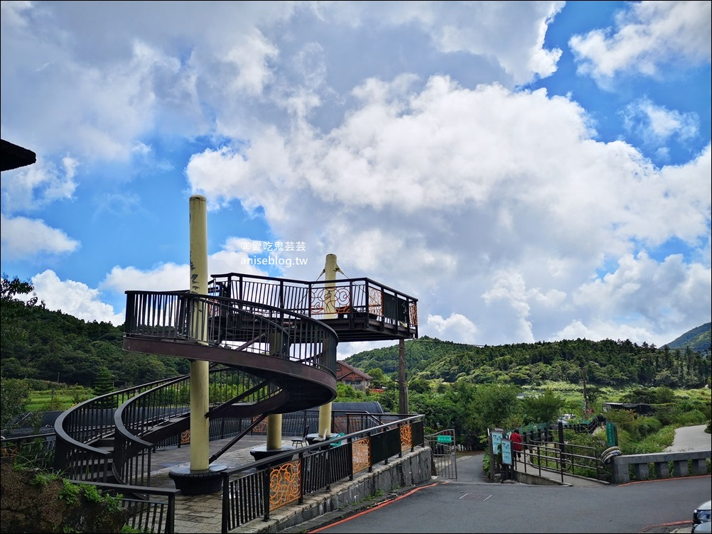 綠山谷海芋園餐廳,陽明山竹子湖賞景喝咖啡(姊姊食記)