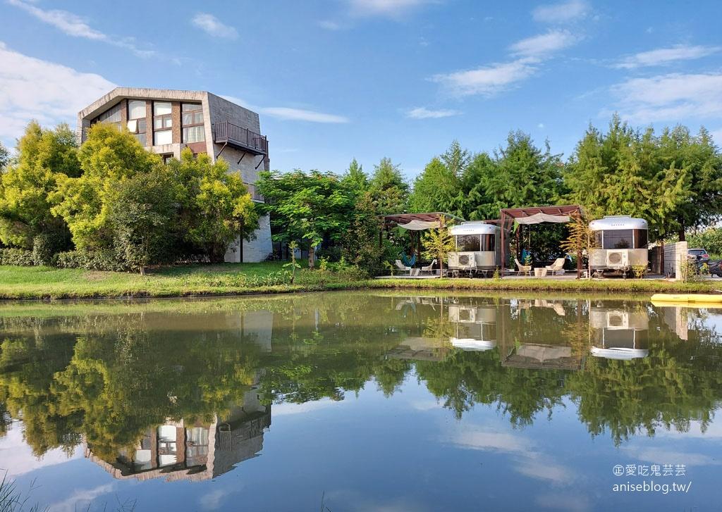 極光露營車@自然捲北歐風格旅店,超夯親子旅店!