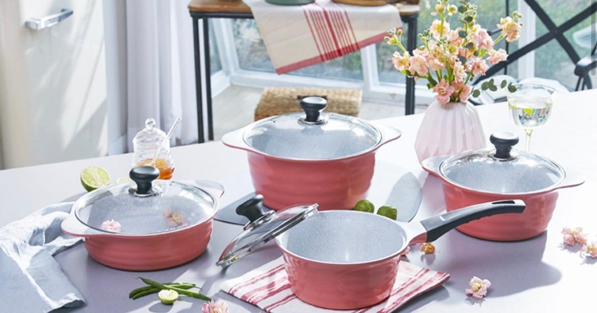 雙11週優惠團快閃連三發!韓國Ecoramic美型陶瓷鍋具組超優惠! (限11/9~11/11) @愛吃鬼芸芸