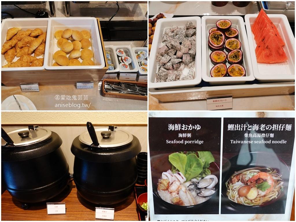 和苑三井花園飯店,純日式的住宿、服務與早餐,用了旅遊補助好划算 XD
