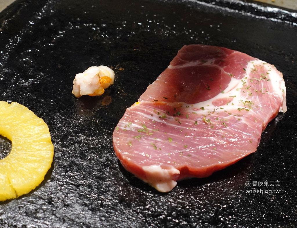燒酒烤烤豬,小菜、蒸蛋是王道!