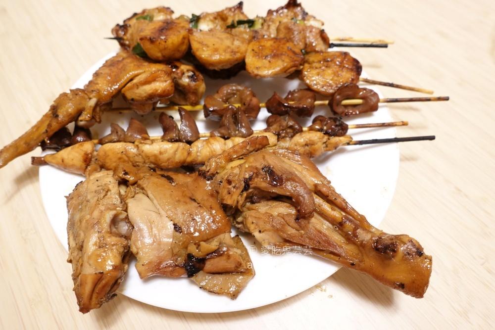 阿忠碳烤專賣店,豬肉捲超美味,西門町消夜美食(姊姊食記)