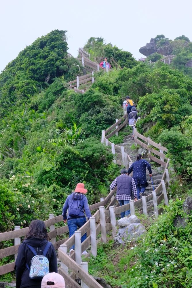 基隆嶼登島,攀登孤懸海上的美麗仙境(姊姊遊記)