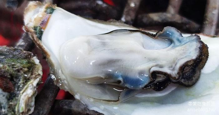 澎湖海洋牧場 | 牡蠣、鹹粥吃到飽,還可釣花枝、海鱺魚😍 (文末夜釣小管) @愛吃鬼芸芸