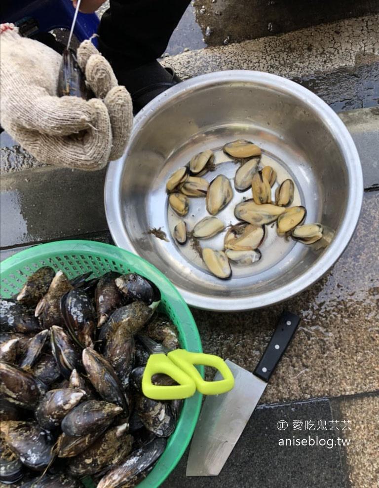 馬祖限定伴手禮!原味淡菜煎貝、老酒蝦煎貝,充滿大海的味道哦!