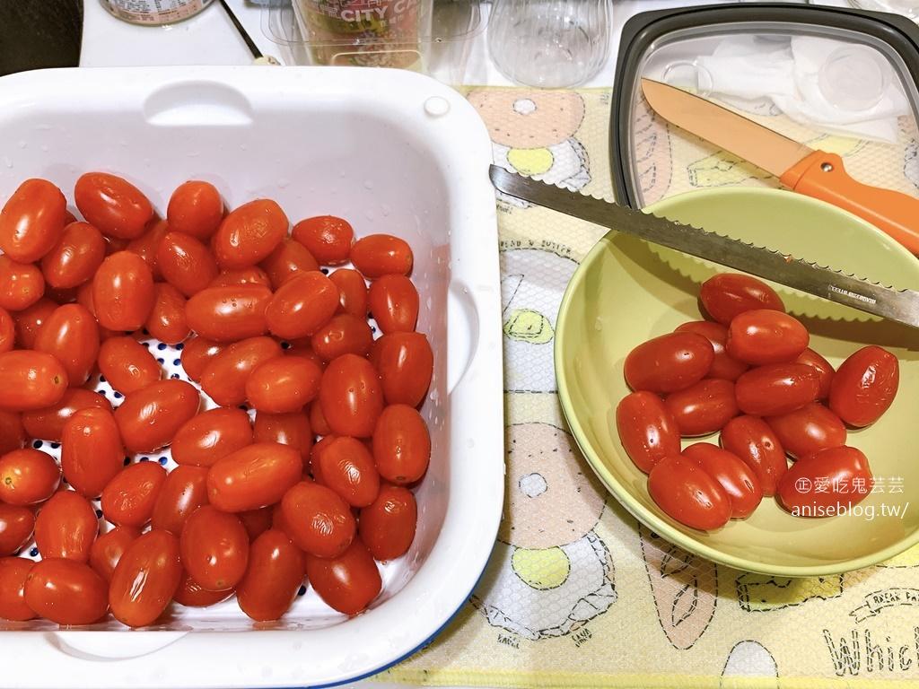 梅漬番茄自己做,夏日的酸甜好滋味(跌倒阿姨食記)