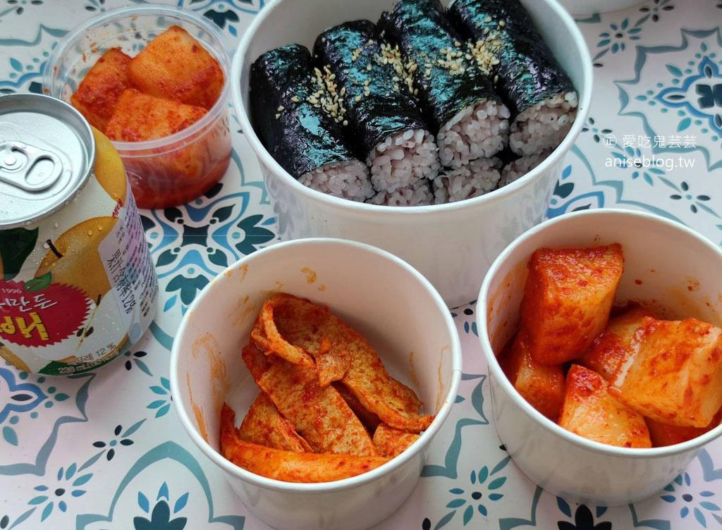 紅飯捲 / 紅gimbap 韓式飯卷,超人氣外帶美食