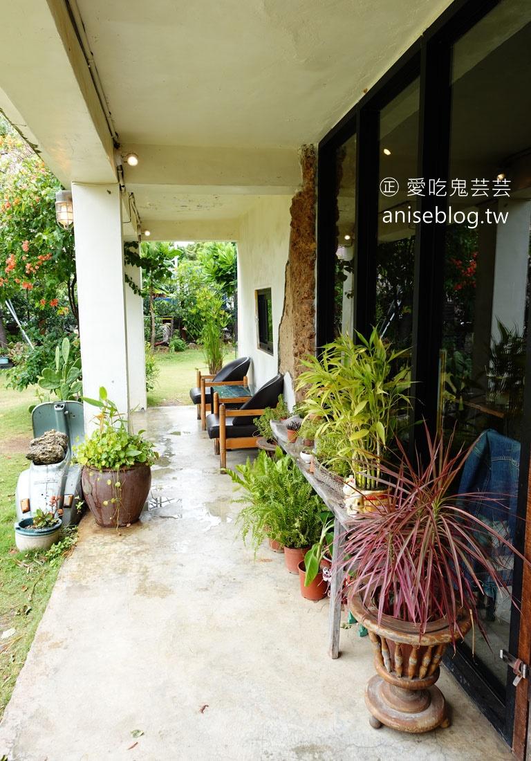 恆春老屋咖啡 | 肥春號,充滿綠意的幽靜咖啡廳