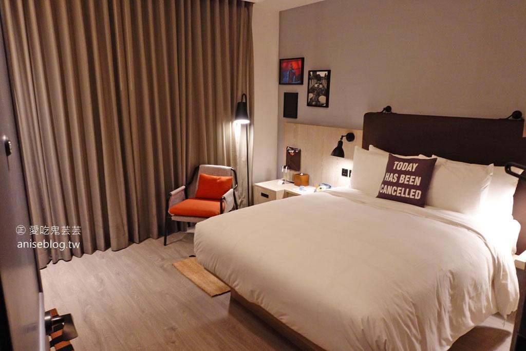 台中豐邑MOXY酒店,潮流風格設計旅店,晚上變身酒吧!(捷運豐樂公園站旁)