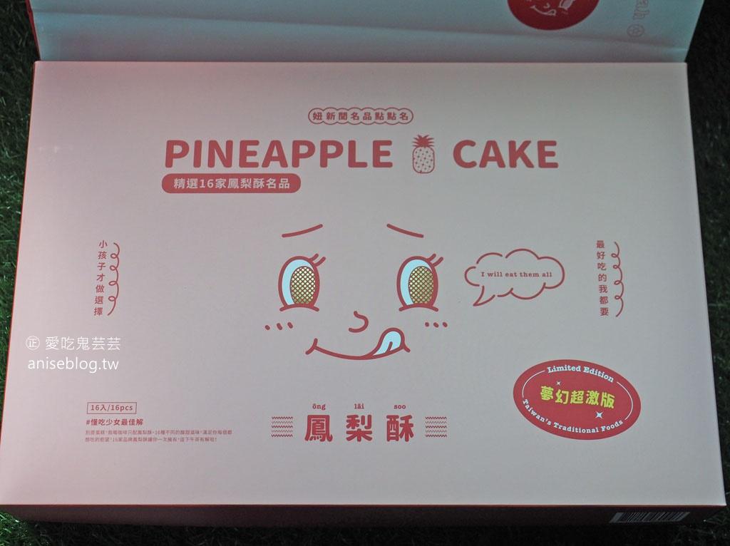 鳳梨酥夢幻盒 16 個品牌一次滿足,小孩子才做選擇!