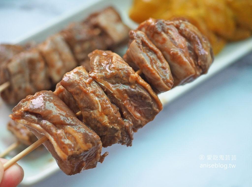 有趣市集中秋烤肉組上市!有趣饕貨|烤寨 X 辣太后《火熱中秋泰辣烤肉組》