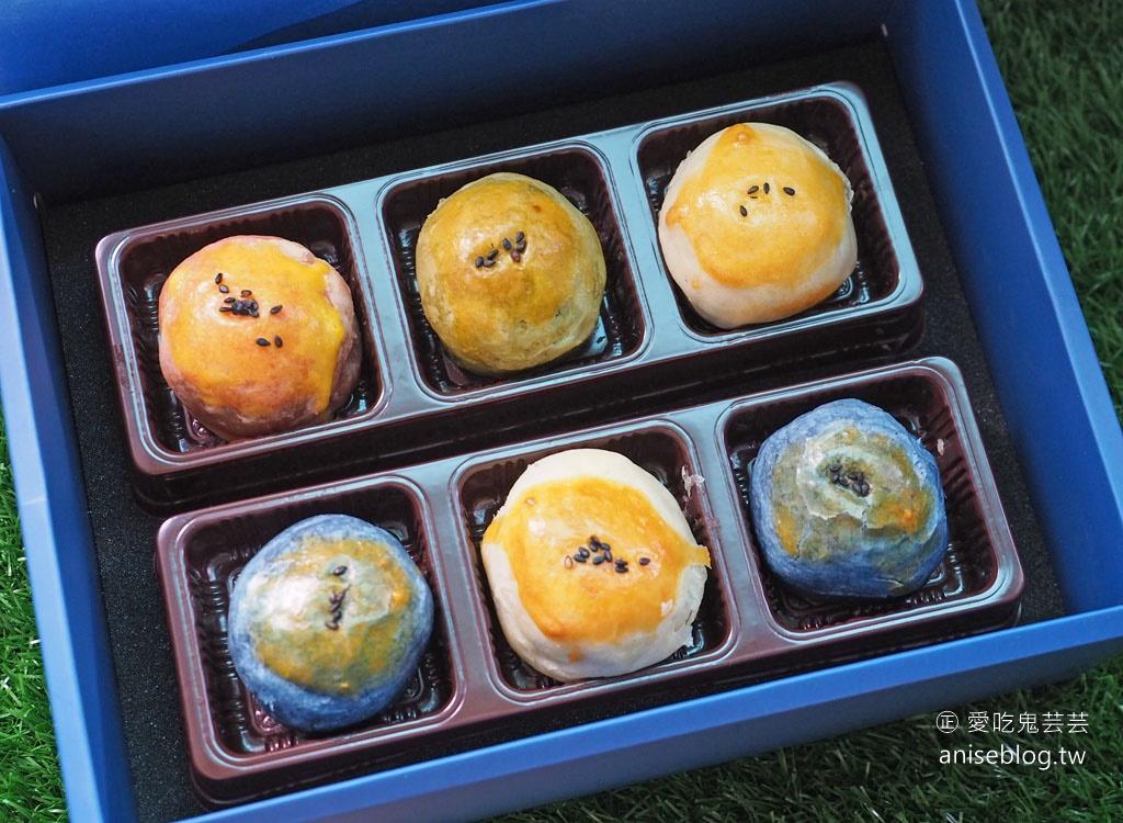 卓也小屋蛋黃酥   彩月手信蛋黃酥手帕禮盒